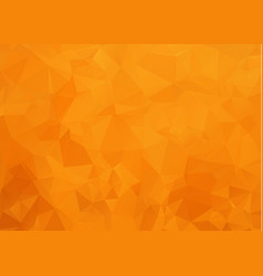 light orange abstract polygonal template modern vector image