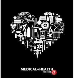 Medical ser Heart vector