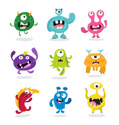 Monster kids monster vector