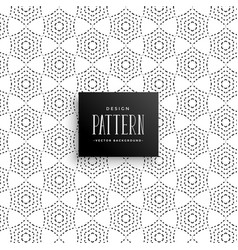 stylish dots abstract pattern background vector image