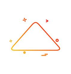 up arrow icon design vector image