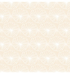 White flower pattern on light background vector