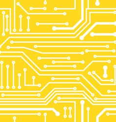 Seamless background on computer board vector image