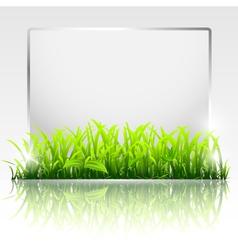 natural frame vector image vector image