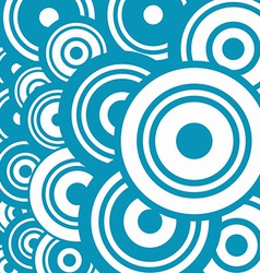 Blue Abstract Circle Background vector image