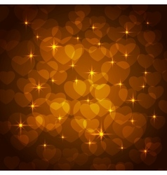 valentine bokeh background vector image vector image