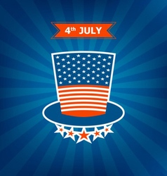 4th july memorial day vector