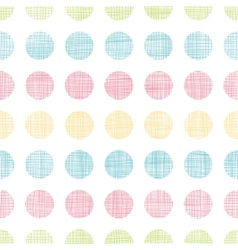Abstract textile polka dots stripes seamless vector