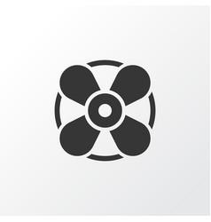 Fan icon symbol premium quality isolated vector