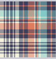 plaid pattern seamless multicolored texture vector image