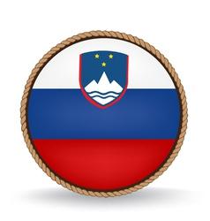 Slovenia Seal vector image