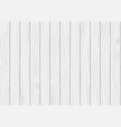 White wooden plank texture wood background vector