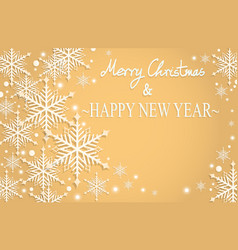 christmas and new years vector image