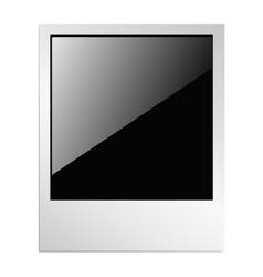Polaroid photo 2 vector image vector image