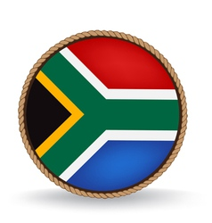 South Africa Seal vector image