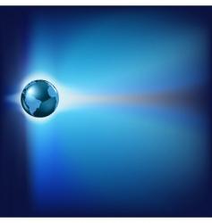 futuristic world vector image