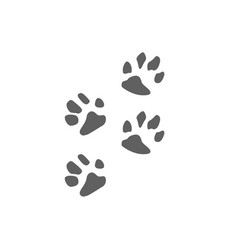 animal care logo design hug dog cat isolated icon vector image