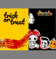 Helloween evil voodoo doll pop art comic vector
