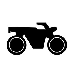 Motorcycle icon vector