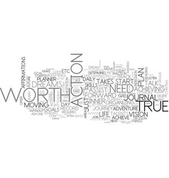 Who determines your true worth text word cloud vector