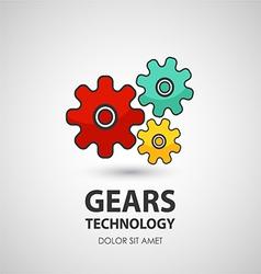 Gears icon Business creative icon vector image vector image