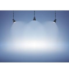 Spot Light Background vector image