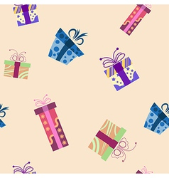 Presents pattern1 vector image vector image