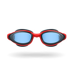 glasses for swimming vector image