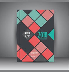 business annual report design vector image vector image