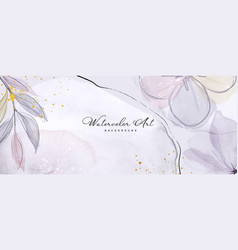 Abstract background watercolor light purple vector