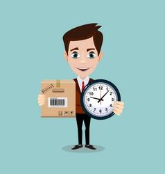 Express cargo delivery icon vector