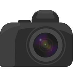 image of the camera with a minimum of vector image