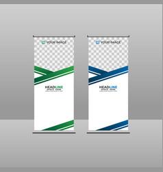 Vertical banner 002 vector