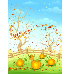 country autumn vector image vector image