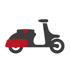delivery motorbike graphic logo sign silhouette on vector image vector image