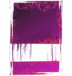 illustration of grunge background vector image vector image
