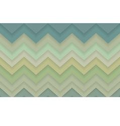 Zigzag chevron 3d pattern background vector image