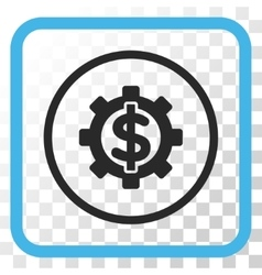 Financial Options Icon In a Frame vector image