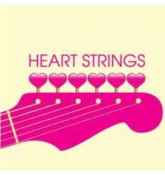 guitar valentine vector image