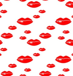 Lipstick pattern vector