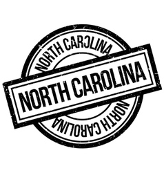 North Carolina rubber stamp vector