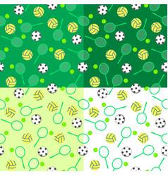 Seamless pattern sport vector