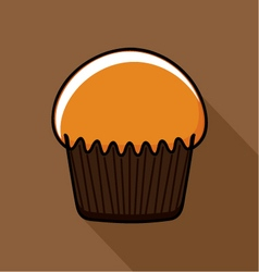 Tasty Muffin vector image