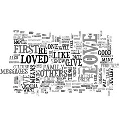 who do you love text word cloud concept vector image