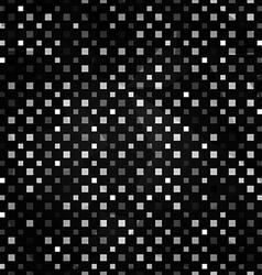 black squares seamless pattern vector image