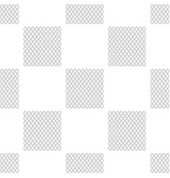 chain fence seamless pattern on white background vector image