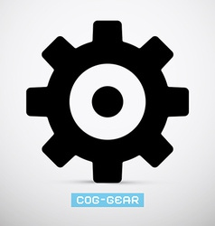 Cog - Gear Icon vector image