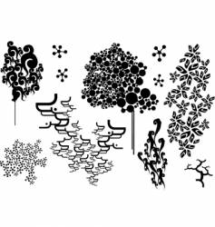 decoration pattern vector image