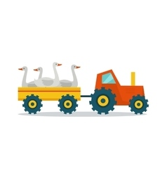 Domestic Animals Carriage vector image vector image
