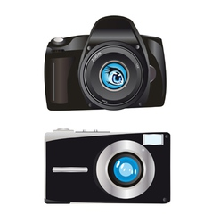 Digital cameras vector